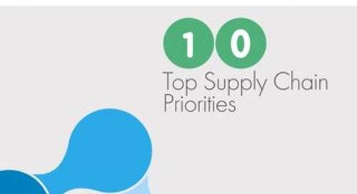 10 Top Supply Chain Chain Priorities