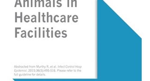 Animals in Healthcare Facilities (SHEA)