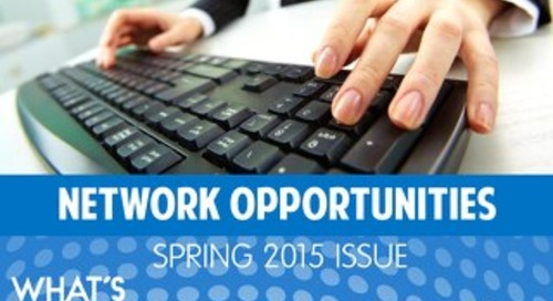 "MeetingJobs.Com ""Network Opportunities"" Magazine Spring 2015"