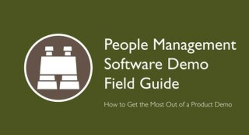 People Management Software Demo Field Guide