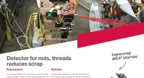 Nut Sensor case study