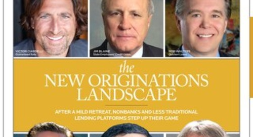 The New Originations Landscape