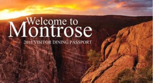 Montrose Colorado Dining Passport