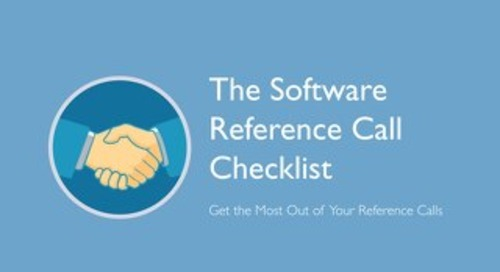 The Software Reference Call Checklist