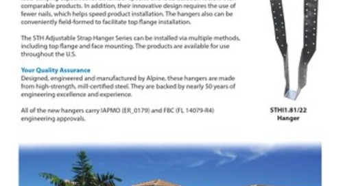 STH Adjustable Stap Hanger Series
