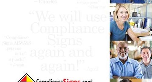 ComplianceSigns.com Company Brochure