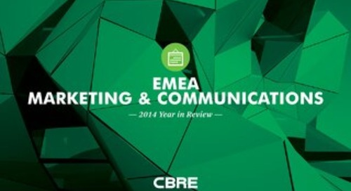 EMEA Marketing & Communications | 2014 Year in Review