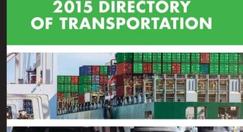 The Directory of Transportation Vol. 1, 2015
