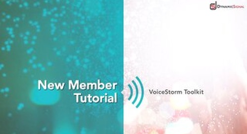 Dynamic Signal - New Member Tutorial