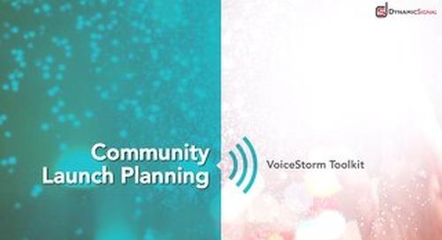 Dynamic Signal - Community Launch Planning
