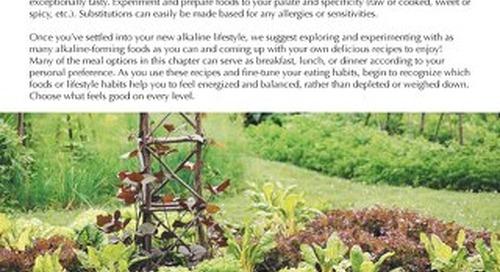 Joy in Living: The Alkaline Way Recipes