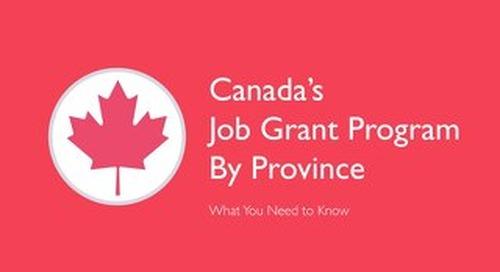 [2015] Canada's Job Grant Program
