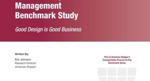 Global Transportation Management Benchmark Study