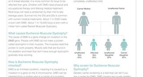 Duchenne Muscular Dystrophy Fact Sheet