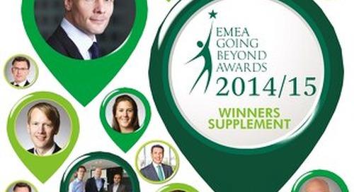 EMEA Going Beyond Awards 2014-15