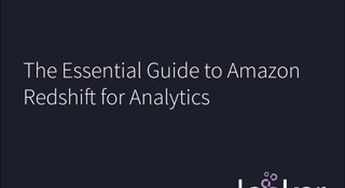 Essential Guide to Amazon Redshift for Analytics