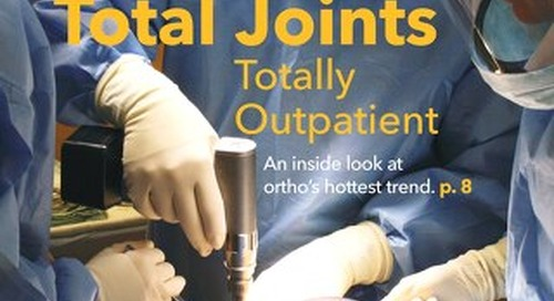 Manager's Guide to Surgery's Orthopedic Surgery - August 2015