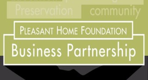 Pleasant Home Foundation Business Partnership 2015