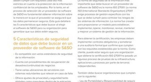 Seguridad y Privacidad de Datos en Software de S&SO