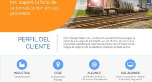 CSX Transportation Estudio de caso