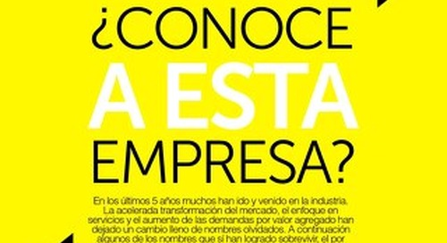 Especial IT NOW - ¿Conoce a esta empresa?
