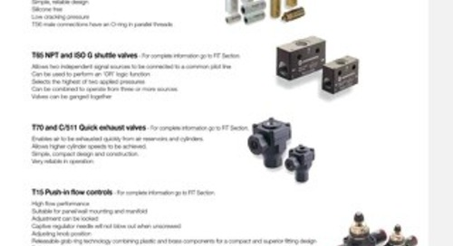 04 - IMI Norgren Function Fittings & Lockout Valves