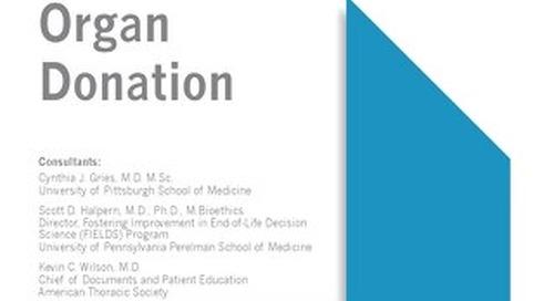 Organ Donation Pocket Guide (ATS)