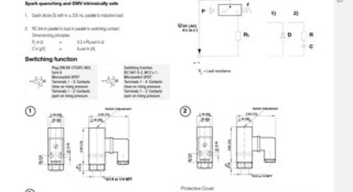 01 - Pressure Switches