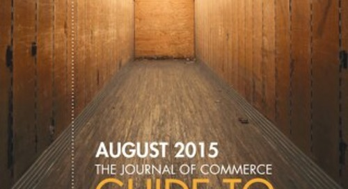 JOC Guide To Trucking, August 2015