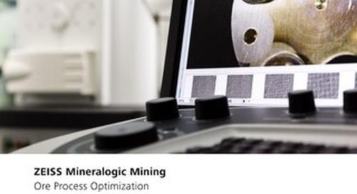 Mineralogic Mining Ore Process Optmization