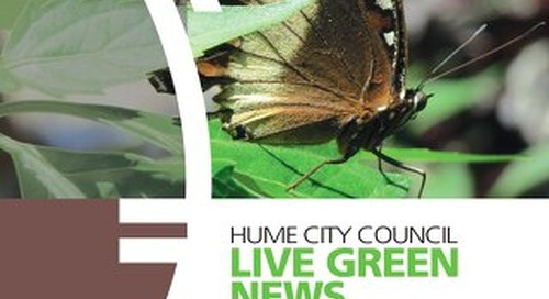 Live Green News - Spring 2015