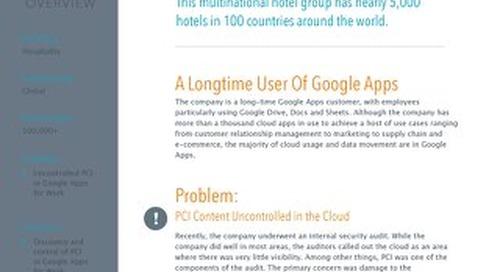 Google Apps - Hospitality
