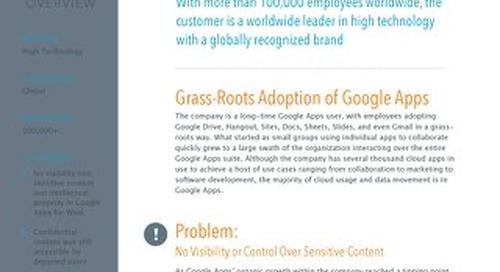 Google Apps - Global IT Leader