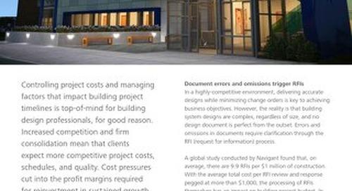 Manage building project risk factors that impact profitability