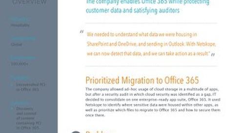 Office 365 - Hospitality