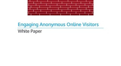 Engaging Anonymous Online Visitors