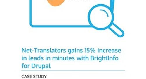 BrightInfo: NetTranslators Case Study