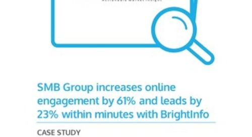 BrightInfo: SMB Group Case Study