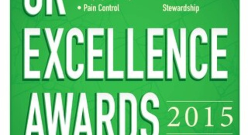 OR Excellence Awards 2015 - September 2015 - Subscribe to Outpatient Surgery Magazine