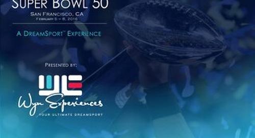 2016 Super Bowl - Wyn Experiences