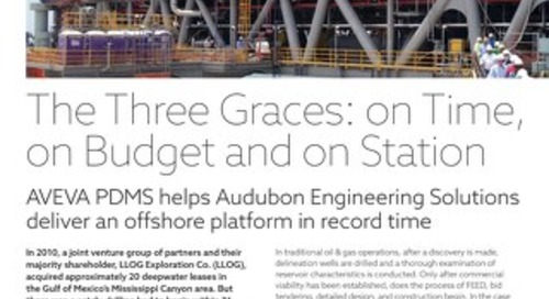 The Three Graces: On Time, On Budget and on Station