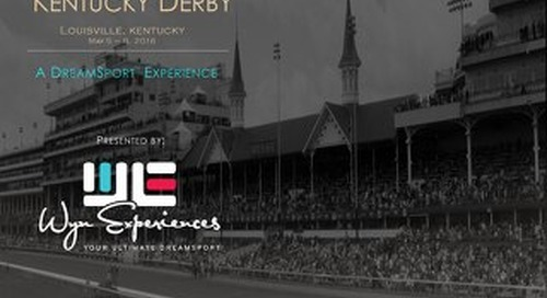 Kentucky Derby 2016 - Wyn Experiences