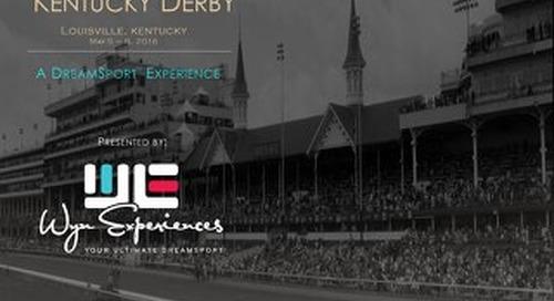Kentucky Derby 2016 - Wyn Experiences