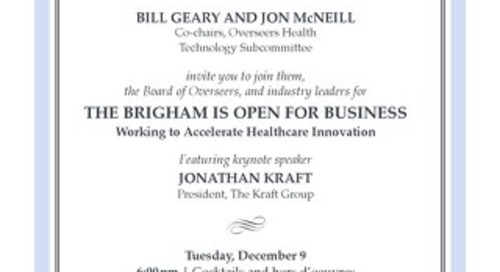 Brigham is Open for Business - December 2014