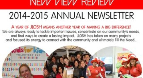 JLOSH 2014-2015 New View Review