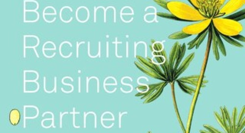 TalentOps Part 1: Become a Recruiting Business Partner