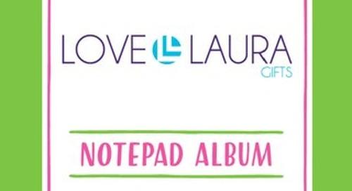 LOVE, LAURA NOTEPAD ALBUM