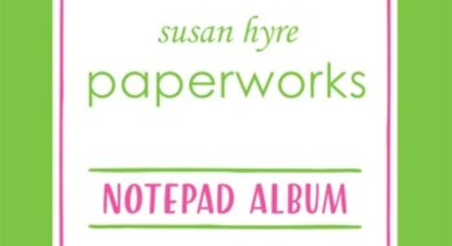 PAPERWORKS NOTEPAD ALBUM