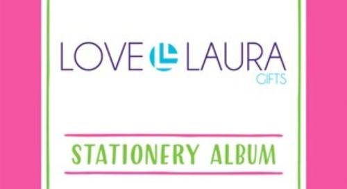 LOVE, LAURA STATIONERY ALBUM