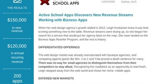 Active Mobile Apps [Bizness Apps Case Study]